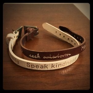 Jewelry - Leather Bracelets